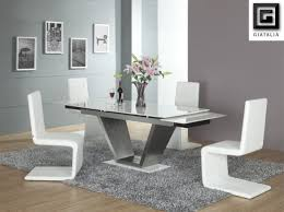 fabric dining room chairs uk tables modern table and sets italian