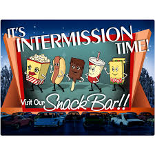 home theater nashua nh intermission time snack bar wall decal home theater decor