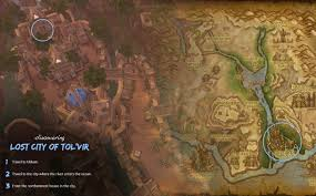Wow Kalimdor Map Lost City Of The Tol U0027vir Zone World Of Warcraft