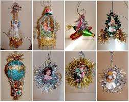 make your own vintage ornaments i think i ll use