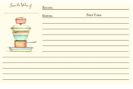 printable recipe cards 4 x 6 4x6 recipe cards for printer 300 free printable recipe cards hnc