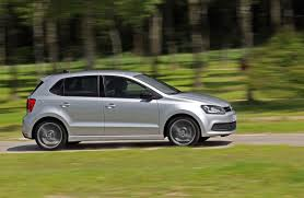 modified volkswagen polo 2013 silver 4dr vw polo blue gt side view eurocar news