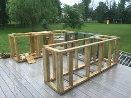 outdoor kitchen idea ideas wood outdoor kitchen outdoor fiture