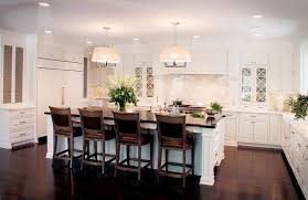 kitchen islands with seating kitchen contemporary with glass
