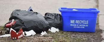 kitchener garbage collection garbage days start next week therecord
