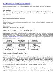Comparison And Contrast Essay Outline Examples Writing Task Skills International English Language Testing