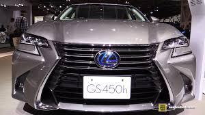 youtube lexus gs 350 2016 lexus gs450h exterior walkaround 2015 tokyo motor show