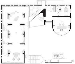 security guard house floor plan jade museum with concrete staircase in shanghai by archi union
