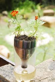 How To Make Self Watering Planters by Self Watering Seed Starter Pot Planter