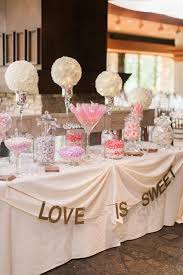 wedding candy table california wedding with pastel blooms dessert table