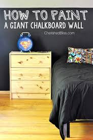 home interior designer chalkboard wall how to paint a chalkboard wall cherished bliss