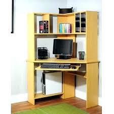 cheap corner desk with hutch corner computer desk with hutch for home small desktop computer