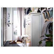 ikea hallway hemnes shoe cabinet with 2 compartments black brown ikea