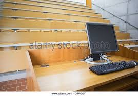 Lecture Hall Desk Empty College Lecture Hall Stock Photos U0026 Empty College Lecture