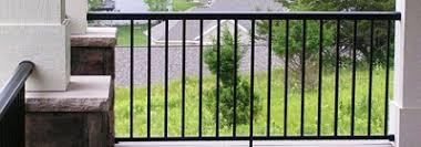 aluminum deck railing aluminum balcony railing shop diy