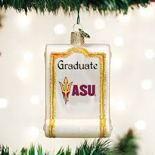 arizona state ornaments for ho ho the mistletoe