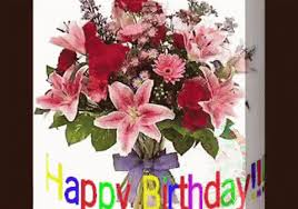 birthday flowers happy birthday flowers gifs tenor
