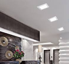 3 inch recessed lighting the lighting square recessed light pertaining to residence led