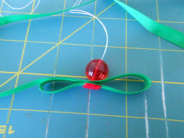 ribbon tree ornament the hairbow center
