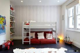 Children S Room Rugs Wonderful Striped Wallpaper Design In Childrens Room With White