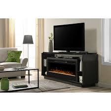 Fireplaces Tv Stands by Dimplex David Glass Ember Bed Electric Fireplace Tv Stand In Smoke