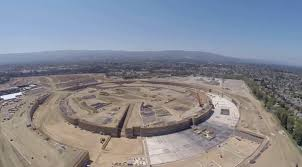 drone video shows construction progress on apple u0027s new campus 2