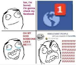 Cool Memes For Facebook - rage guy meme facebook notifications funny stuffff pinterest