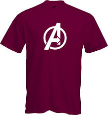 Marvel Super Heroes Clothing Avengers Logo T Shirt Marvel Comic Super Heroes Fun Cool