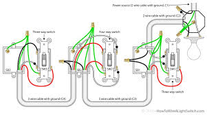 wiring diagrams 4 way tele wiring three switch light switch