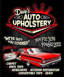 Muscle Car Upholstery Dave U0027s Auto Upholstery Automotive Repair Shop Lincolnton