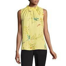 yellow blouse shirts blouses tops for