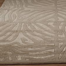 Luxury Rug Candice Olson Luxury Zebra Carved Rug Shades Of Light