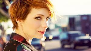 what is felicia day s hair color felicia day know your meme