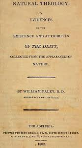 Blind Watchmaker Pdf Natural Theology Or Evidences Of The Existence And Attributes Of