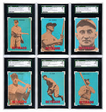 more foreign vintage baseball cards part of auction