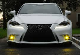 lexus is250 f sport fully loaded amazon com ijdmtoy lexus f sport 15w high power projector led fog