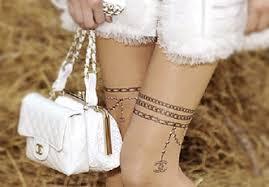 chanel tattoos u2013 lady art looks
