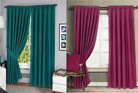 Lined Cotton Curtains Menaal Pair Of 100 Cotton Curtains Fully Lined Solar Thermal