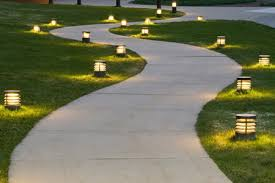 Patio Solar Lights How To Install A Paver Patio With Solar Lights Diy True Value