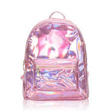 holographic bags holographic school backpack girl gammaray hologram bag women laser