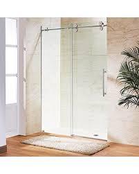 48 In Shower Door Amazing Deal On Vigo Elan 44 To 48 In Frameless Sliding Shower