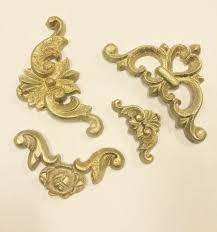 ornaments baroque silicone mould handmade vintage