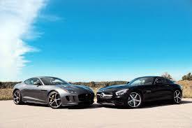 jaguar k type 2016 jaguar f type r coupe vs mercedes amg gt s autoguide com news