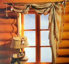 Elegant Window Treatments by Home Decoration Interesting Window Treatment Ideas For Log House