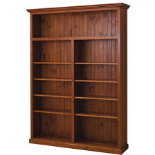 local made pine bookcase cl 7 x 5 wooden furniture sydney timber