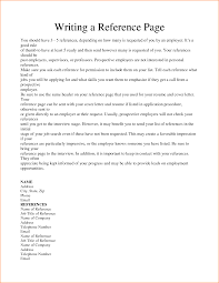 Reference In A Resume How To Write A Reference On A Resume Free Resume Example And
