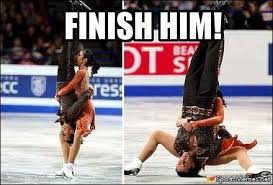Skating Memes - mortal kombat ice skating meme