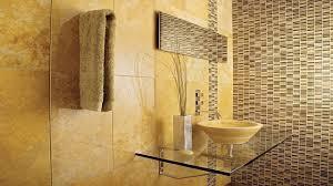 bathroom grey floor tiles round mosaic tiles glass wall tiles