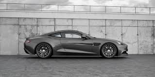 aston martin vanquish matte black tuning aston martin vanquish with wheels and exhaust wheelsandmore