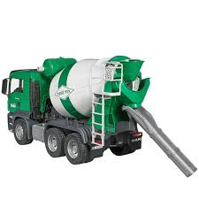 bruder man tgs cement mixer truck educational toys planet